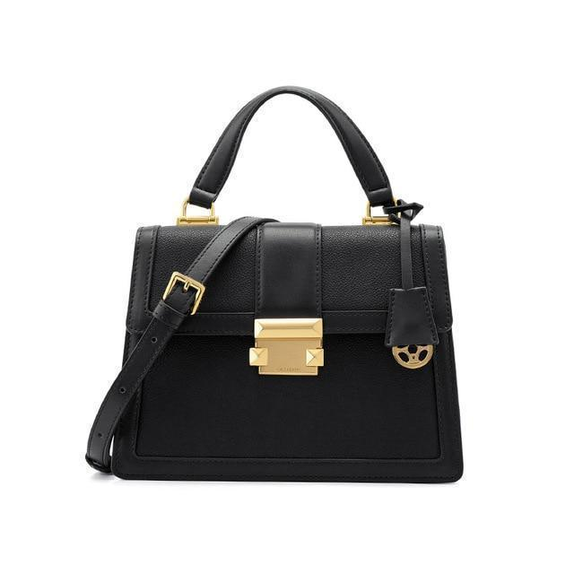 Lucille Purse Hepburn Black - Pursh Collection