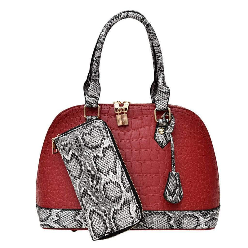 Mallory Purse Anna Red - Pursh Collection