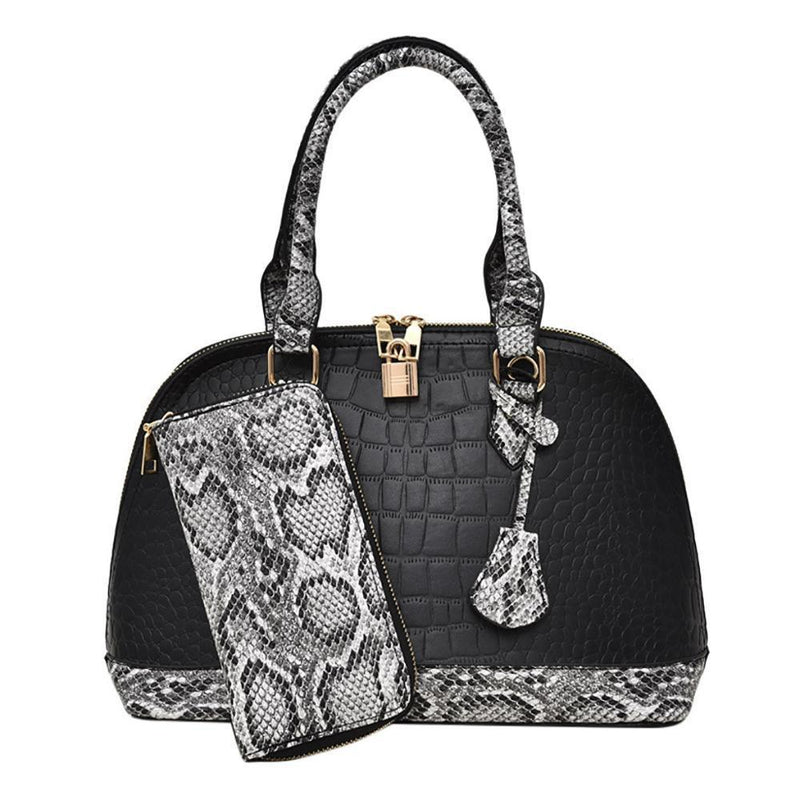 Mallory Purse Hepburn Black - Pursh Collection