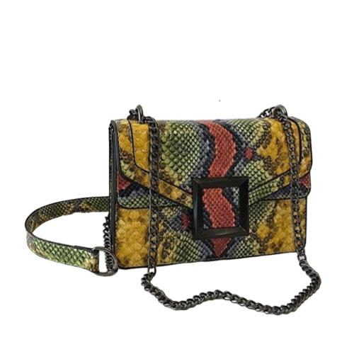 Mara Purse Multi-Colored Gold - Pursh Collection