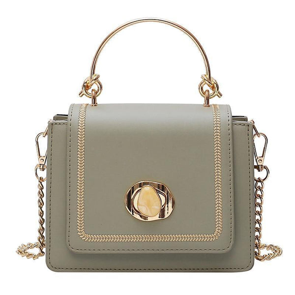 Nicolette Purse Olive Green - Pursh Collection
