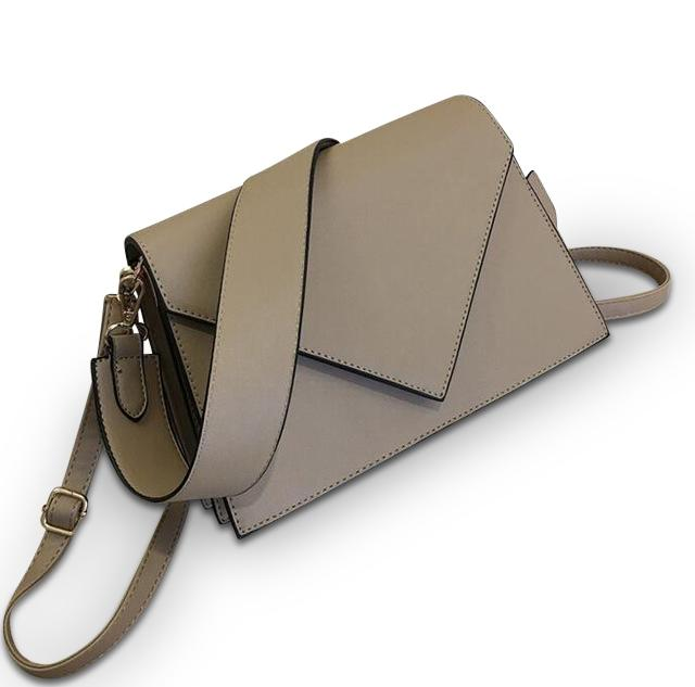 Open Letter Purse Latte Brown - Pursh Collection
