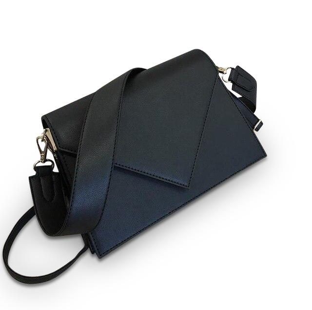 Open Letter Purse Midnight Black - Pursh Collection