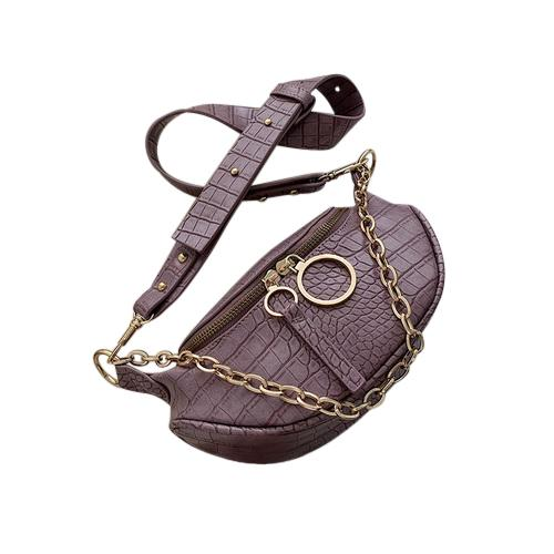 Sasha Crocodile Purse Crocodile Lavender - Pursh Collection