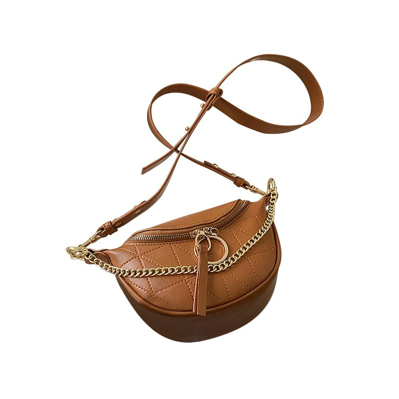 Sasha Geo Purse Amber Brown - Pursh Collection