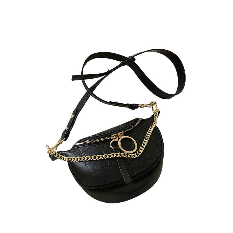 Sasha Geo Purse Midnight Black - Pursh Collection