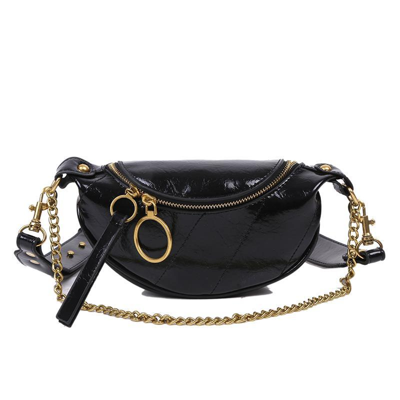 Sasha Shine Purse Onyx Black - Pursh Collection