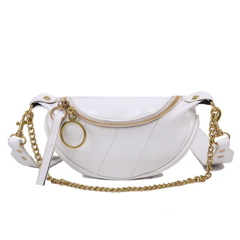Sasha Shine Purse Porcelain White - Pursh Collection