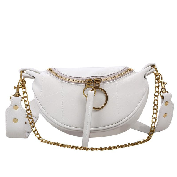 Sasha Matte Purse Porcelain White (Matte) - Pursh Collection