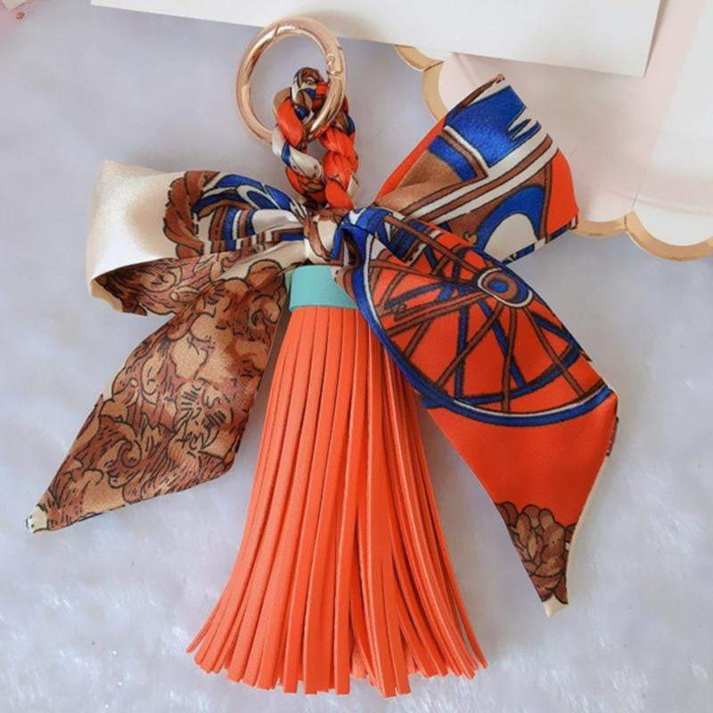 Scarf and Tassel Accessory - Pursh Collection