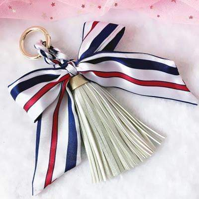 Scarf and Tassel Accessory Silver - Pursh Collection