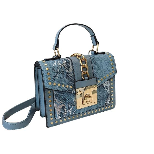 Seraphina Purse Blue - Pursh Collection
