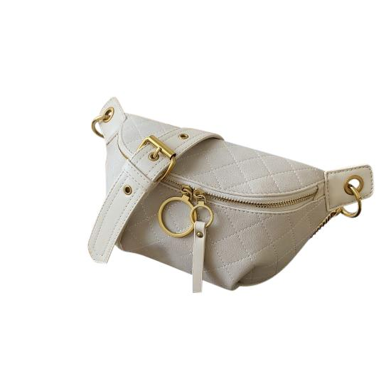 Solene Purse Cloudy White - Pursh Collection