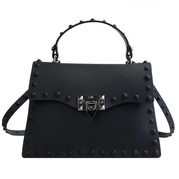 Stefania Purse Onyx Black - Pursh Collection