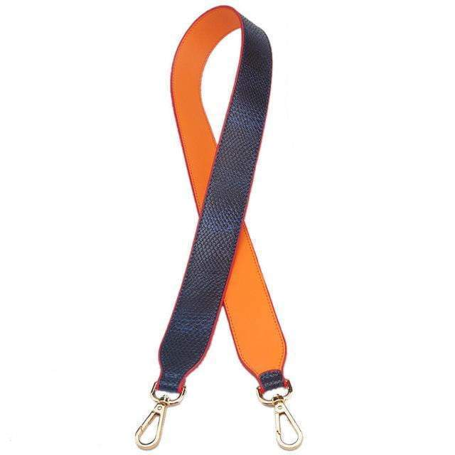 Strap In Accessory Blue and Orange (H) - Pursh Collection