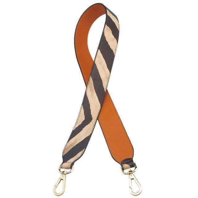 Strap In Accessory Brown and Zebra (I) - Pursh Collection