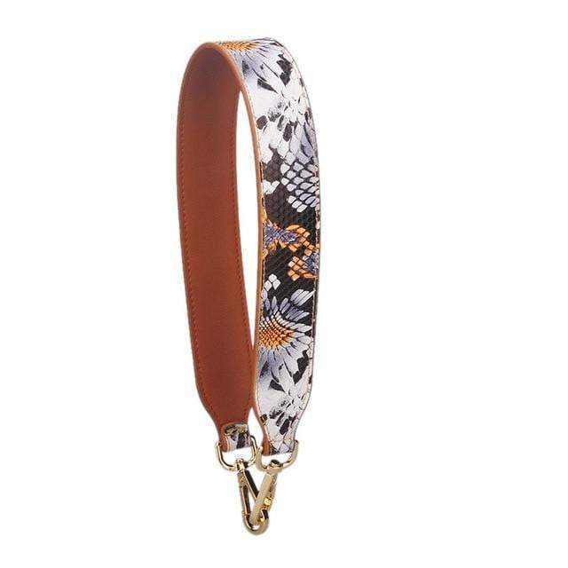 Strap In Accessory Floral Serpentine - Pursh Collection