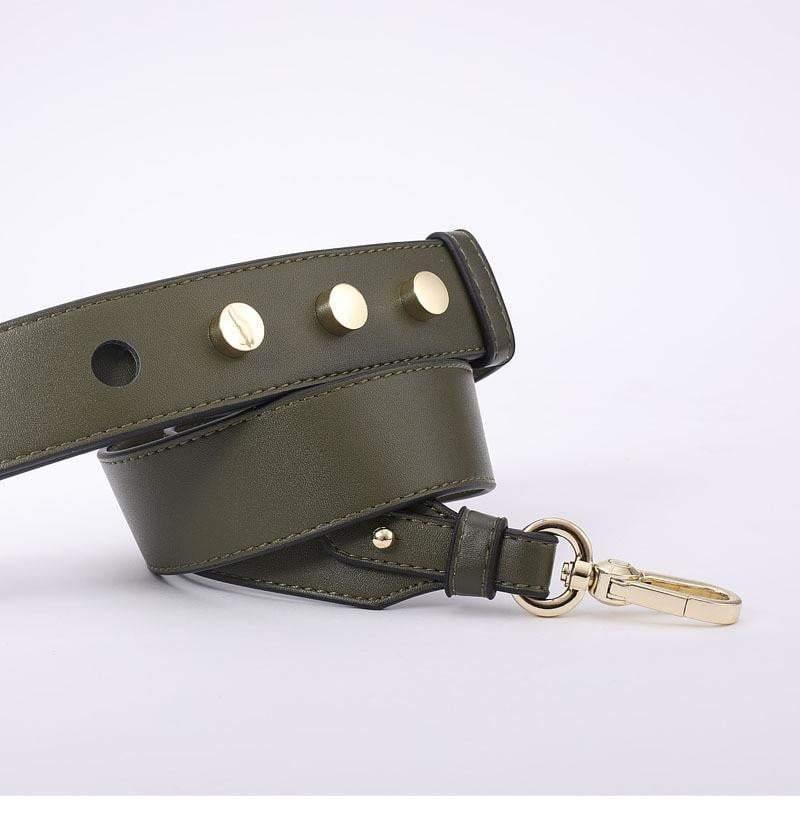 Strapped Accessory Green - Pursh Collection