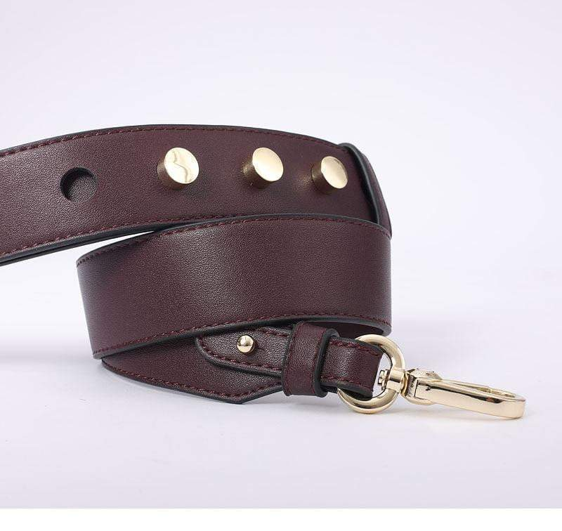Strapped Accessory Wine Red - Pursh Collection