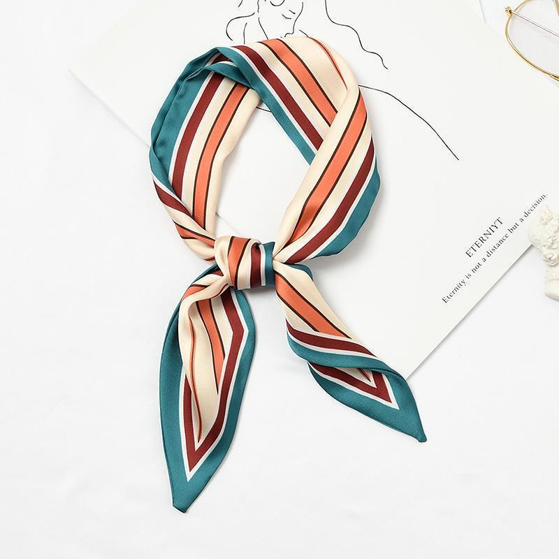 Stria Accessory Teal/Ruby/Orange - Pursh Collection