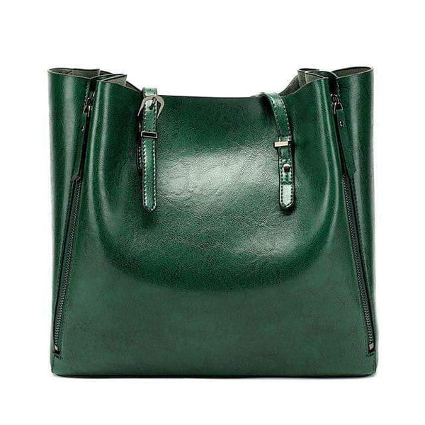 Tara Purse Green - Pursh Collection