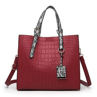 Tessa Purse Red - Pursh Collection