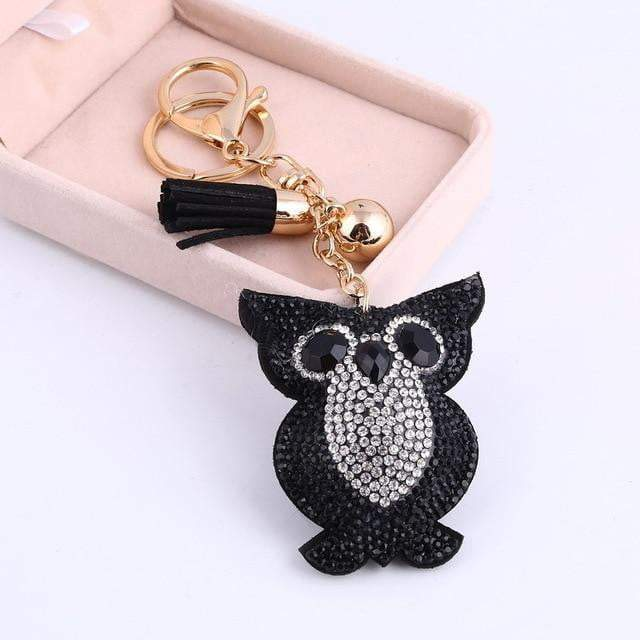 This is a Hoot Accessory Black - Pursh Collection