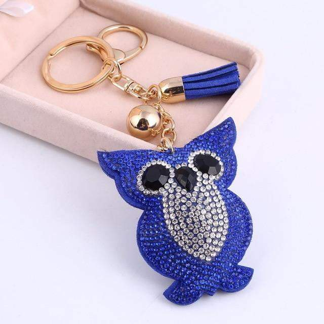 This is a Hoot Accessory Blue - Pursh Collection