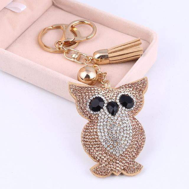 This is a Hoot Accessory Gold - Pursh Collection