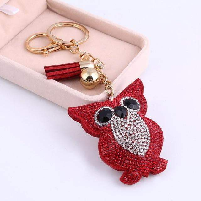 This is a Hoot Accessory Red - Pursh Collection