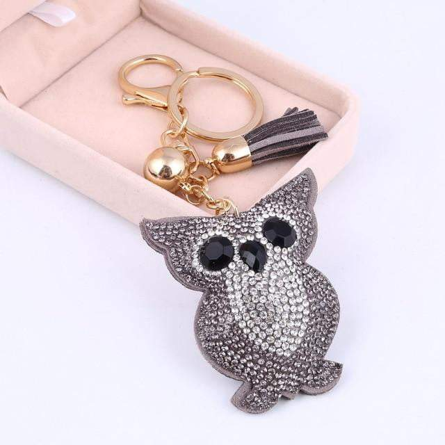 This is a Hoot Accessory Silver - Pursh Collection