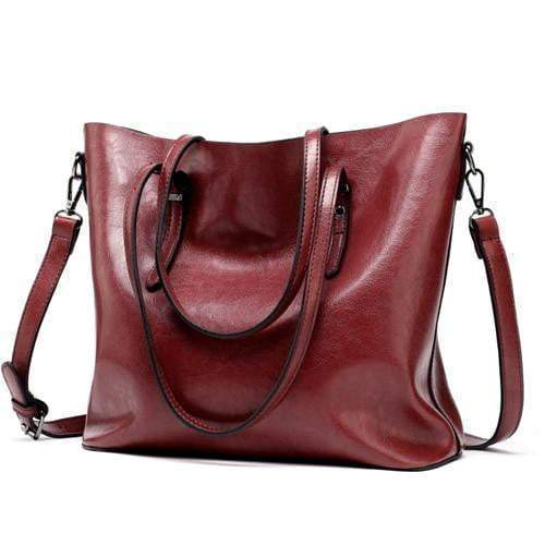 Tote Tote Purse Wine Red - Pursh Collection
