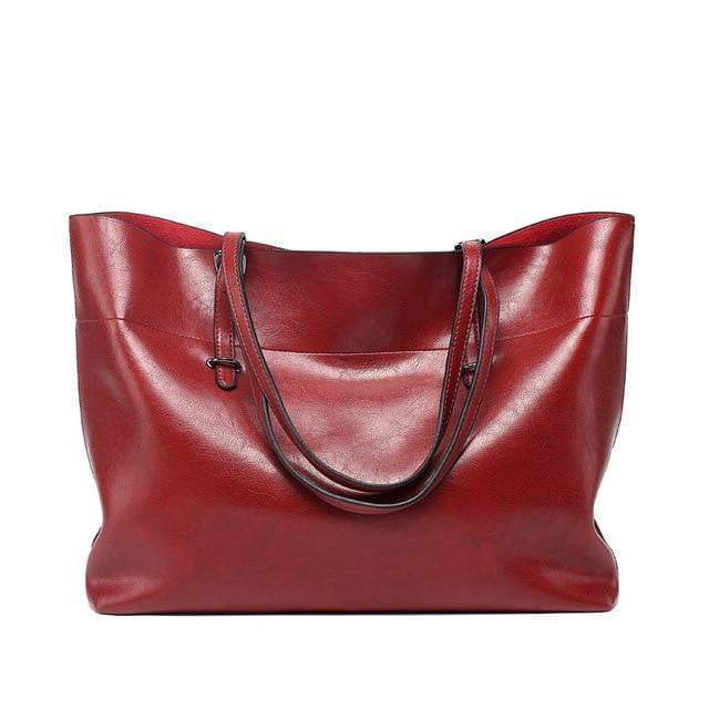 Tote Tote Tote Purse Wine red - Pursh Collection