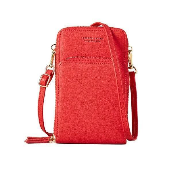 Trini Wallet Red - Pursh Collection