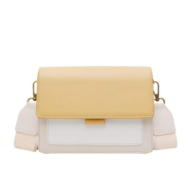 Verona Purse Macaroon Yellow - Pursh Collection