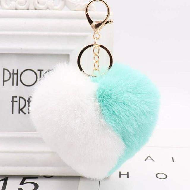 Wear Your Heart on Your Strap Accessory Baby Blue - Pursh Collection