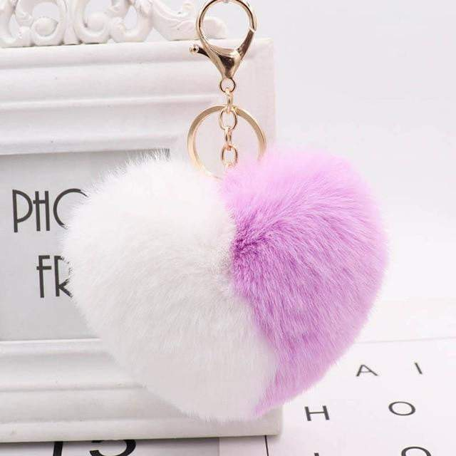 Wear Your Heart on Your Strap Accessory Bright Purplee - Pursh Collection