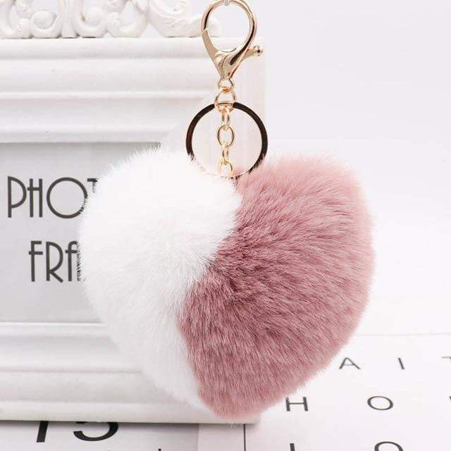 Wear Your Heart on Your Strap Accessory Mauve - Pursh Collection