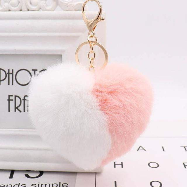 Wear Your Heart on Your Strap Accessory Peach - Pursh Collection