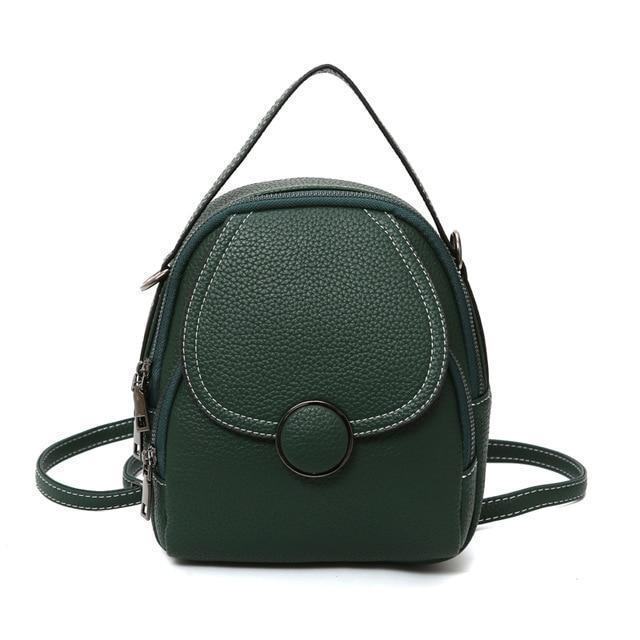 Wren Purse Green - Pursh Collection
