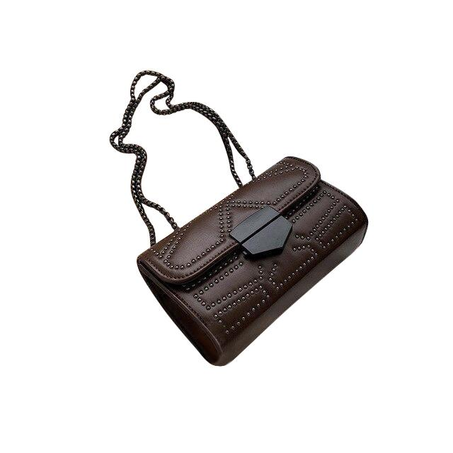 Zola Mini Purse Dark Chocolate - Pursh Collection
