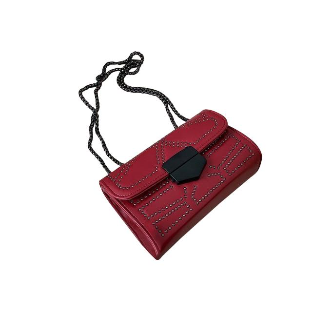 Zola Mini Purse Garnet Red - Pursh Collection