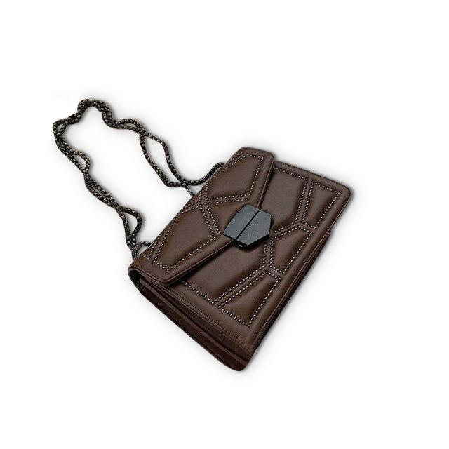 Zola Purse Dark Chocolate - Pursh Collection