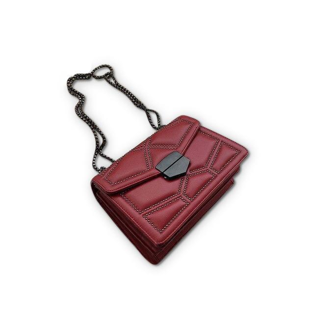 Zola Purse Garnet Red - Pursh Collection