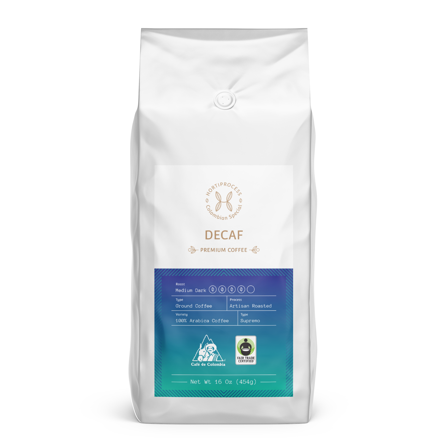Decaf Colombian Origin 2 Oz