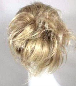 Make A Bun Or A Ponytail w/ Charity - Comb Attachment Piece