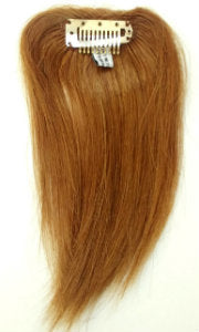 Human Hair Clip-On Straight-8""