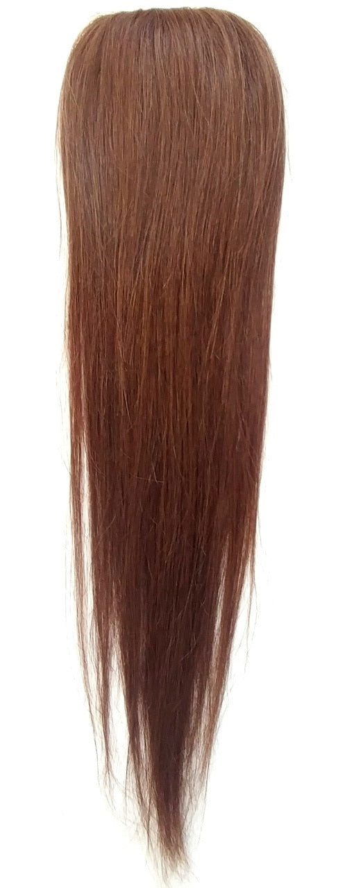 Human Hair Clip-On Straight-12""