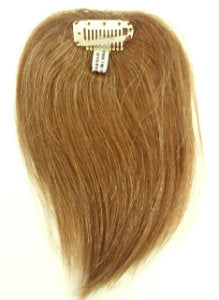 Human Hair Clip-On Straight-6""