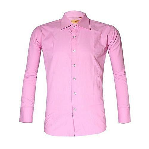 Fashion Men's Shirt - Pink